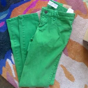 Abercrombie & Fitch light green jeans